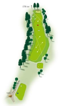 Sixteenth hole layout Mount Maunganui Golf Course