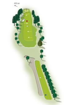 Third hole Mount Maunganui Golf Course