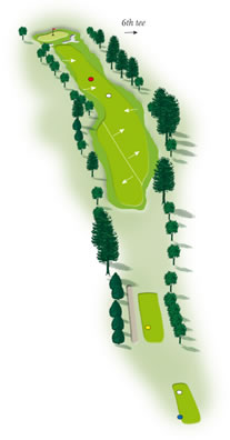 Fifth hole layout Mount Maunganui Golf Course
