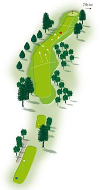 Sixth hole layout Mount Maunganui Golf Course